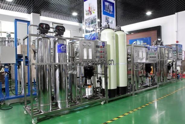 化妆品用0.75t/h全自动反渗透纯水机设备