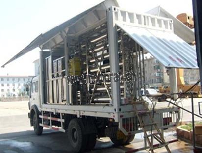 应急救援移动净水车设备 HDYD-RO-MC系列